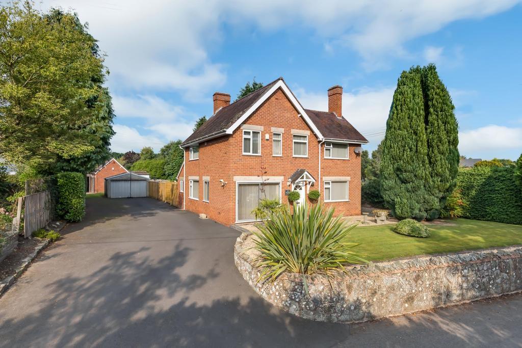 3 Bedrooms Detached House for sale in Watling Street, Leintwardine, Craven Arms, Shropshire