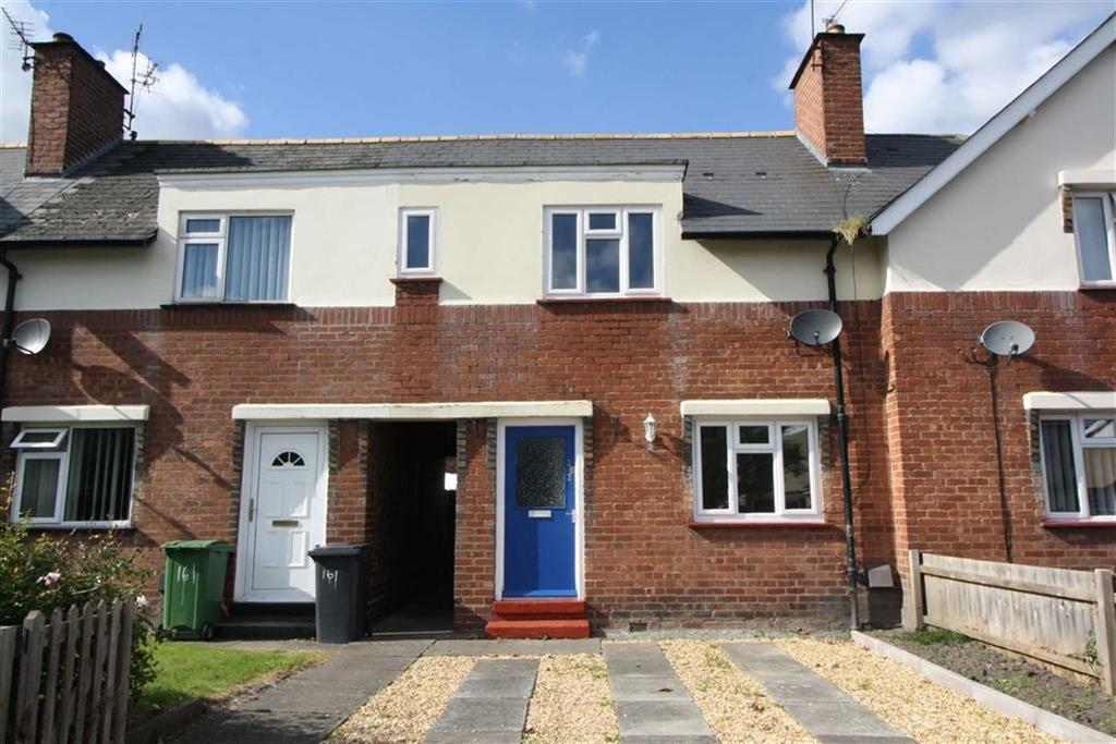3 Bedrooms Terraced House for sale in New Park Road, Castlfields, Shrewsbury