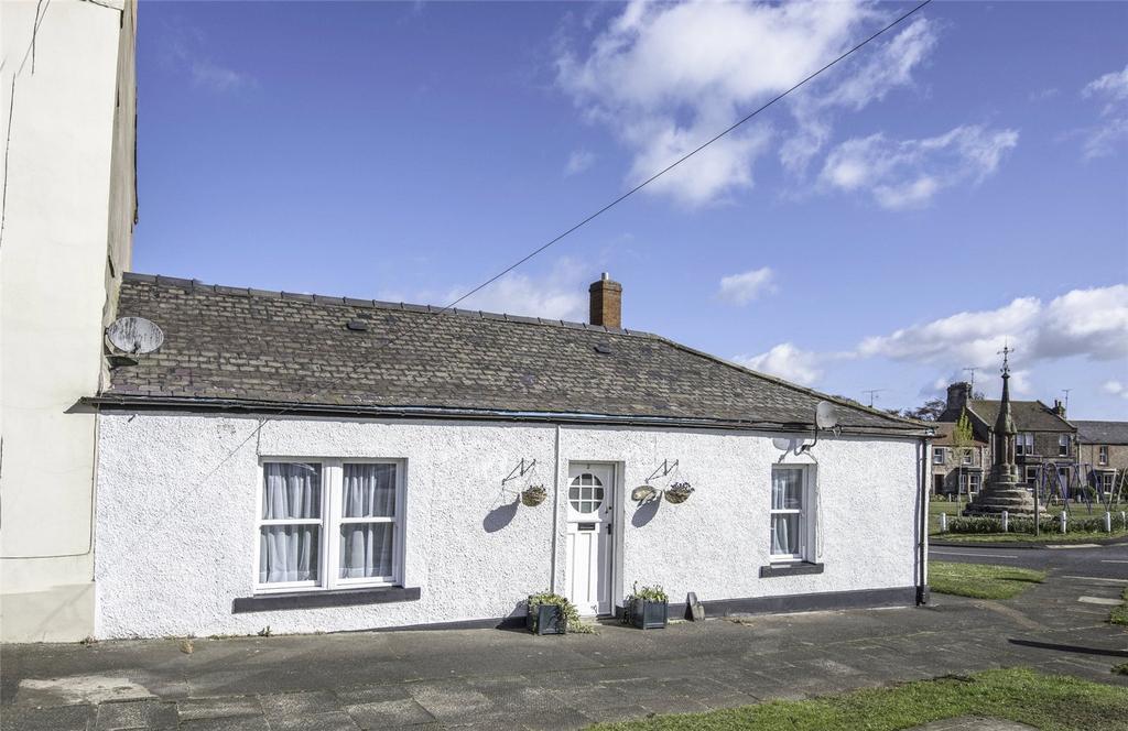 2 Bedrooms Terraced Bungalow for sale in Salmon Cottage, West Street, Norham, Berwick-Upon-Tweed, Northumberland
