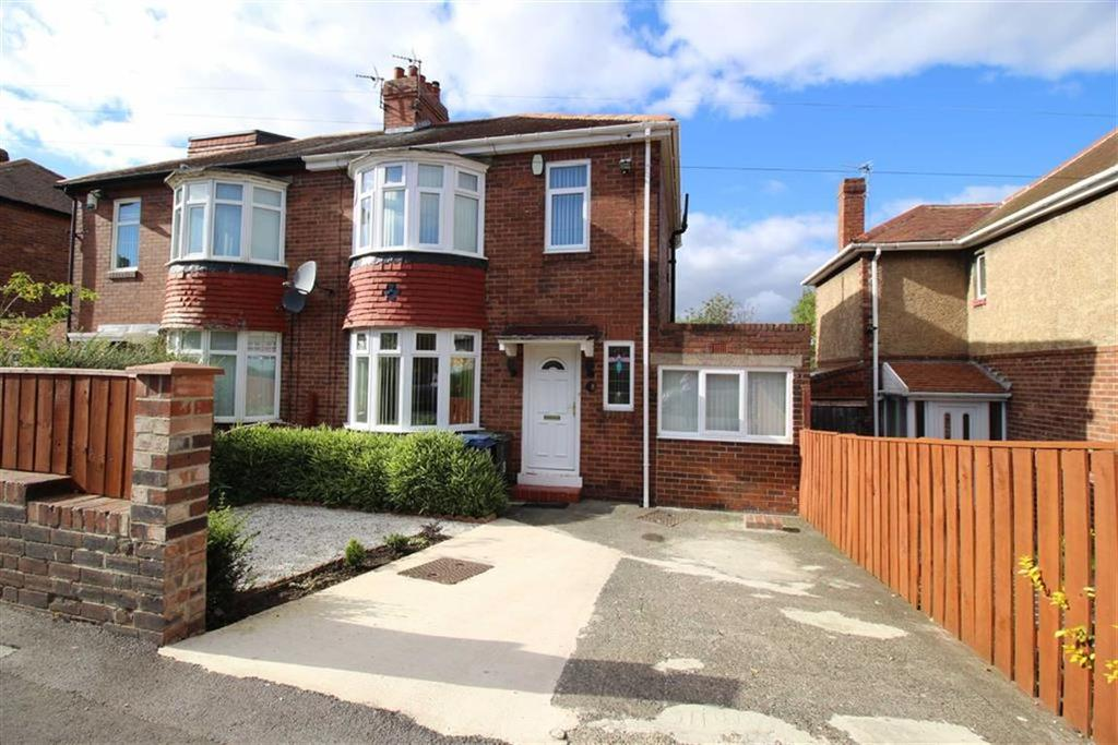 2 Bedrooms Semi Detached House for sale in Howdene Road, Newcastle Upon Tyne, NE15