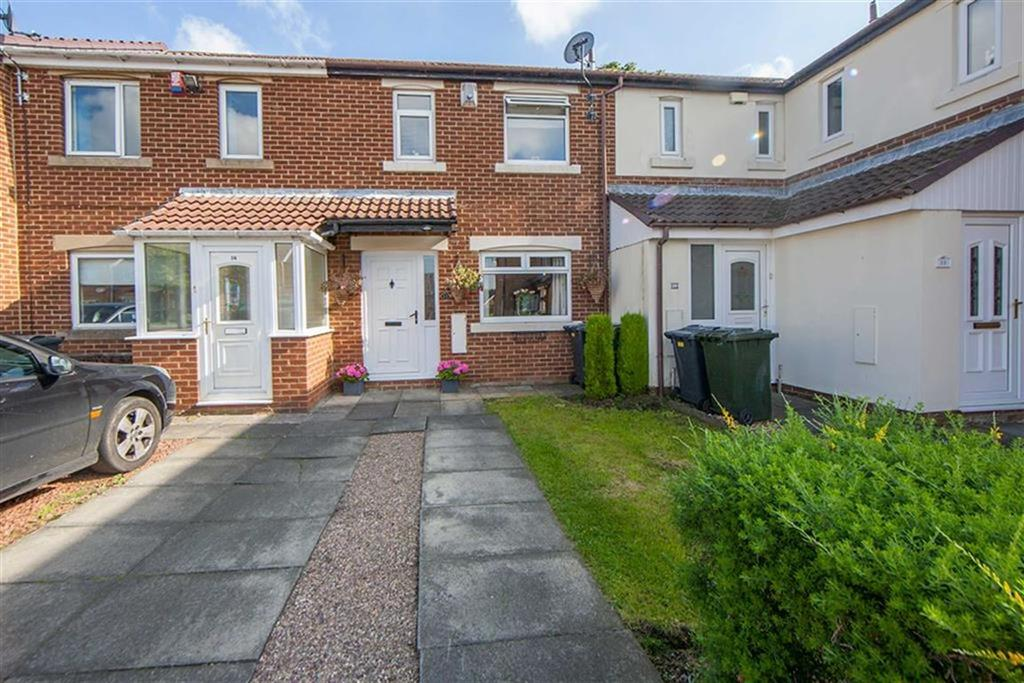 3 Bedrooms Terraced House for sale in Ribblesdale, The Shires, Wallsend, NE28