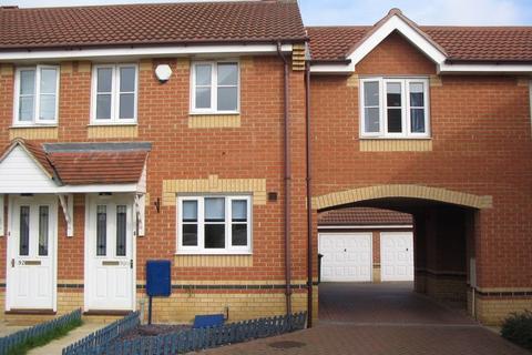 2 bedroom terraced house to rent - Turnstone Way, Stanground, PETERBOROUGH, PE2
