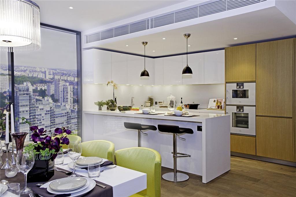 3 Bedrooms Flat for sale in Chelsea Waterfront, Lots Road, Chelsea, London, SW10