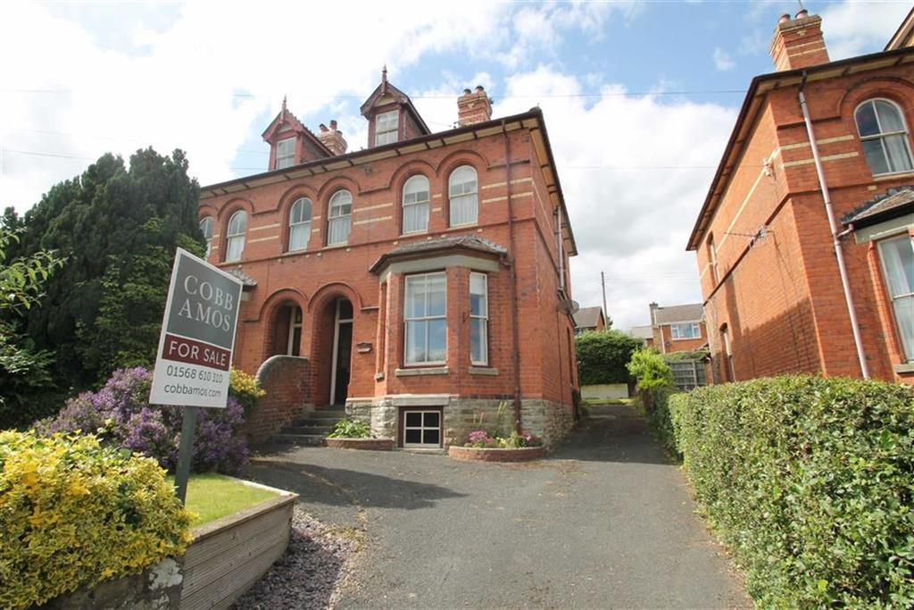 5 Bedrooms Semi Detached House for sale in Victoria Road, KINGTON, Kington, Herefordshire