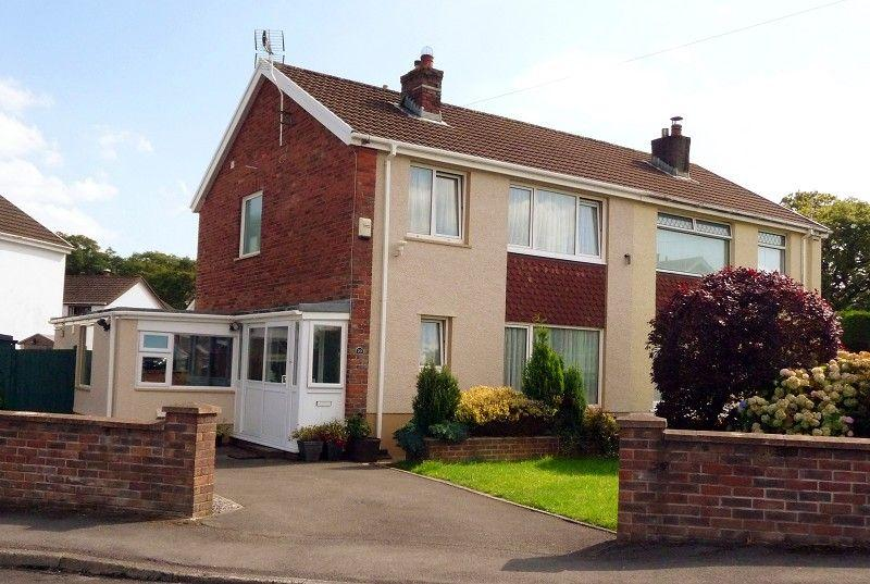 3 Bedrooms Semi Detached House for sale in Maesycoed Ammanford, Carmarthenshire.