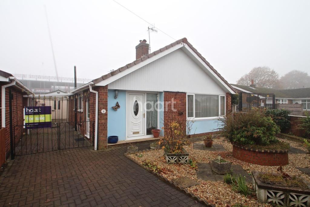 2 Bedrooms Bungalow for sale in Langbank, Rise Park, Nottingham