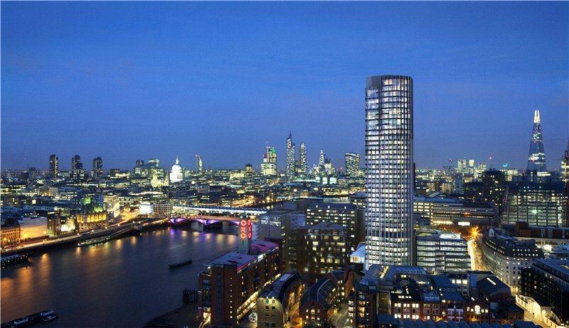 3 Bedrooms Flat for sale in 3702 South Bank Tower, 55 Upper Ground, South Bank, London, SE1