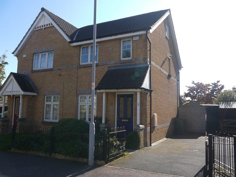 2 Bedrooms Semi Detached House for sale in Woodpecker Close, Allerton, BD15 7WJ