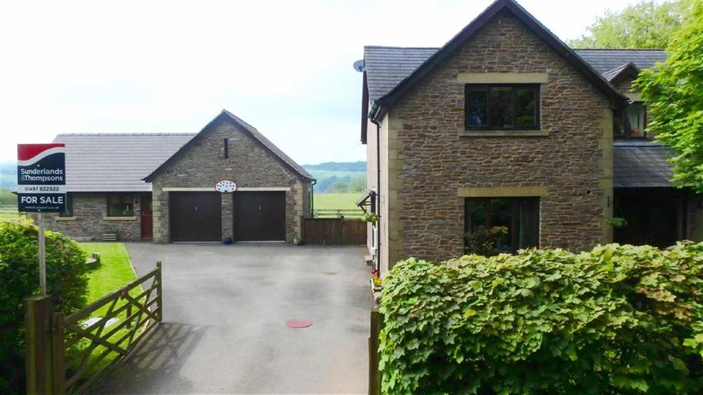 4 Bedrooms Detached House for sale in Parks Road, Clifford, Clifford, Herefordshire