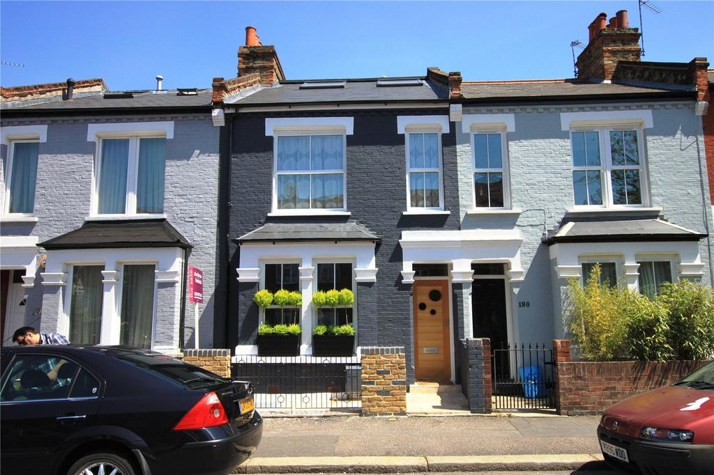 4 Bedrooms Terraced House for sale in Devonshire Road, Chiswick, London