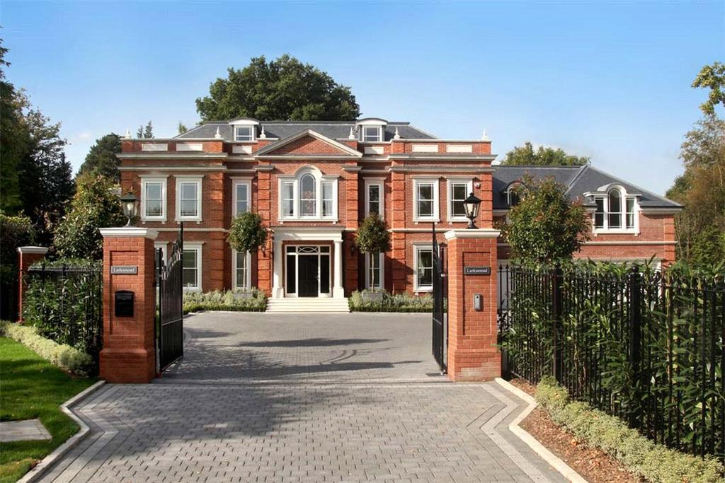 6 Bedrooms Detached House for sale in Titlarks Hill, Sunningdale, Ascot, Berkshire, SL5