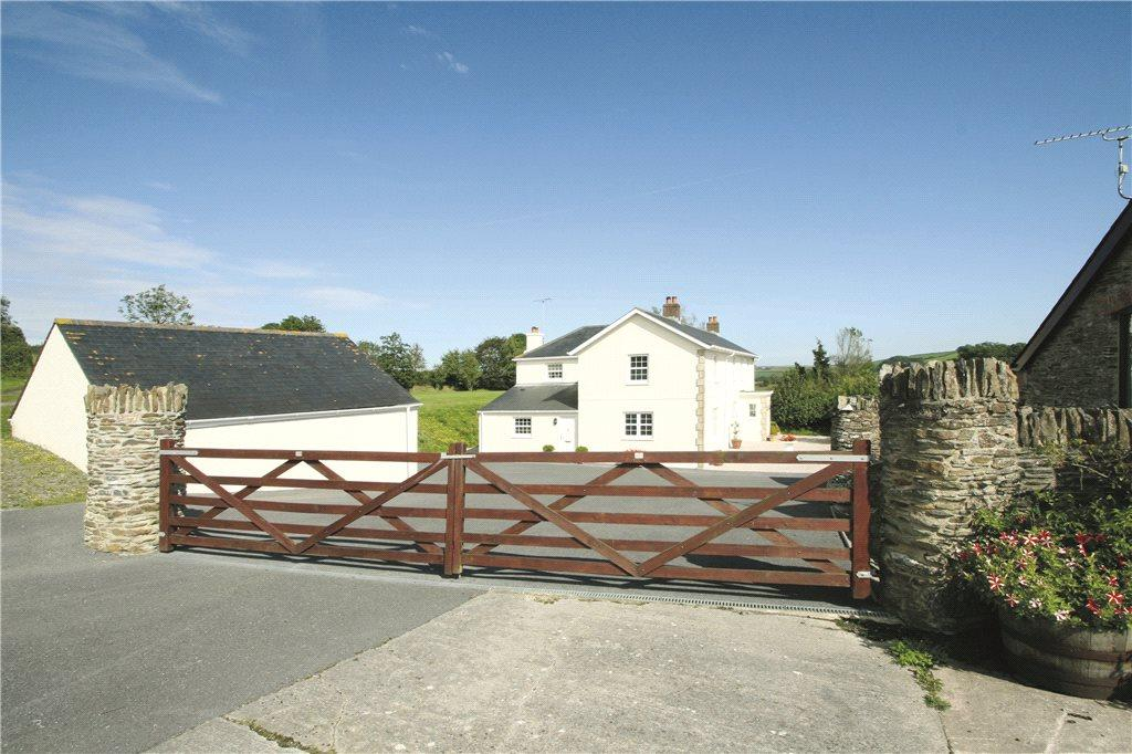 5 Bedrooms Detached House for sale in Cornworthy, Totnes, Devon