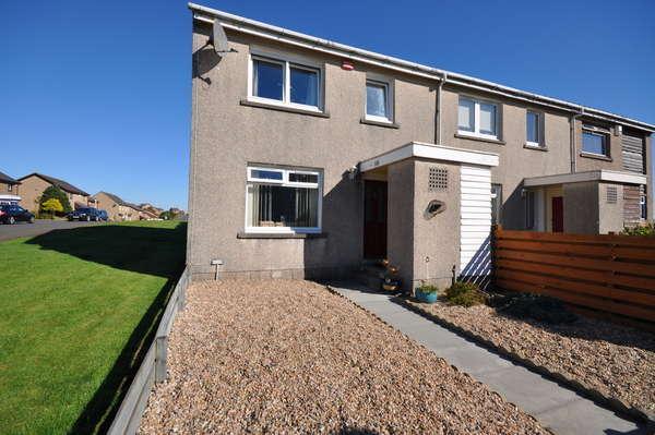 3 Bedrooms End Of Terrace House for sale in 118 Bridgehousehill Road, Kilmarnock, KA1 4QD