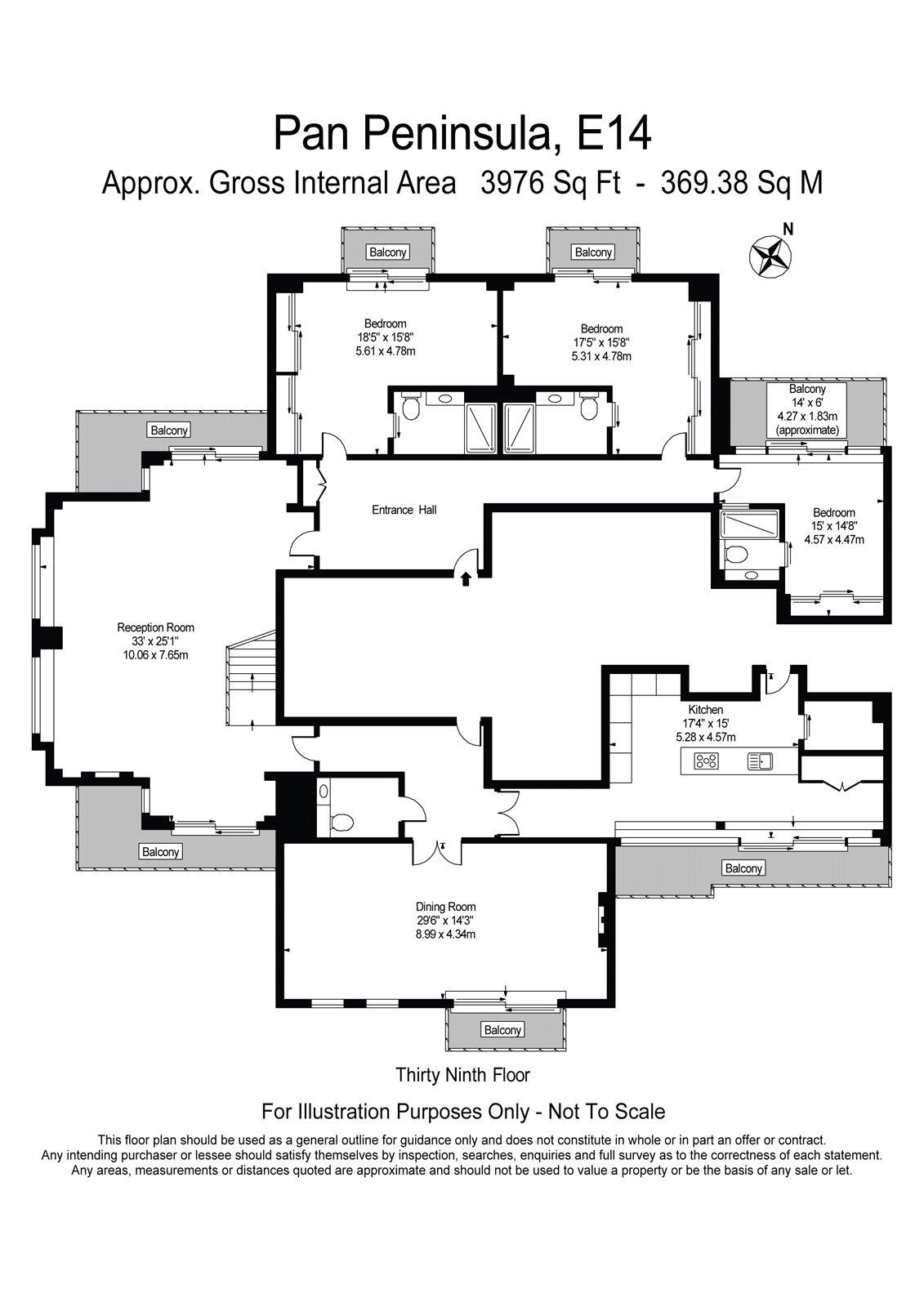 Floorplan 2 of 2: Floor Plan 39th Flr