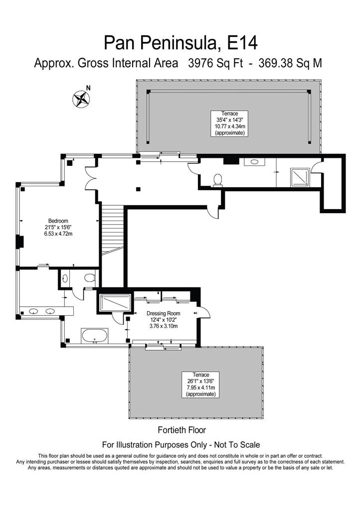 Floor Plan 40th Flr