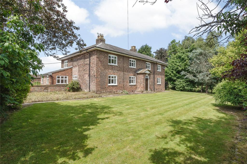 5 Bedrooms Detached House for sale in Wood Lane, Bradwall, Sandbach, Cheshire