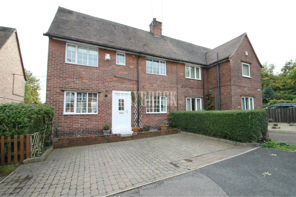3 Bedrooms Semi Detached House for sale in Woodview, Renishaw
