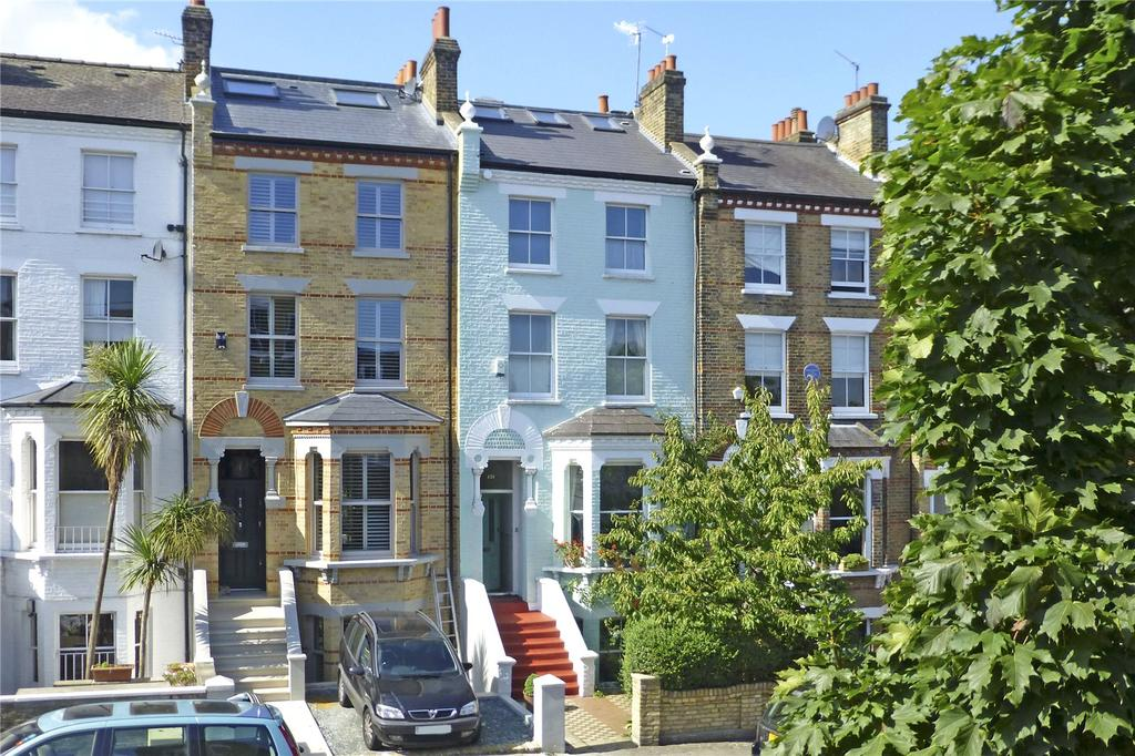 4 Bedrooms Terraced House for sale in The Chase, Clapham, London, SW4