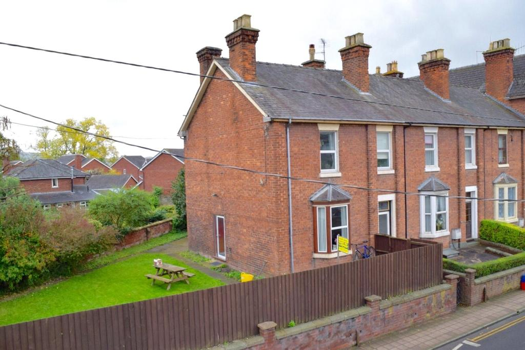 3 Bedrooms End Of Terrace House for sale in Havelock Terrace, Salop Road, Welshpool, Powys