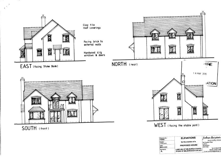 Land Commercial for sale in Land Adjacent To Chapel, Stoke St. Milborough, Ludlow, Shropshire