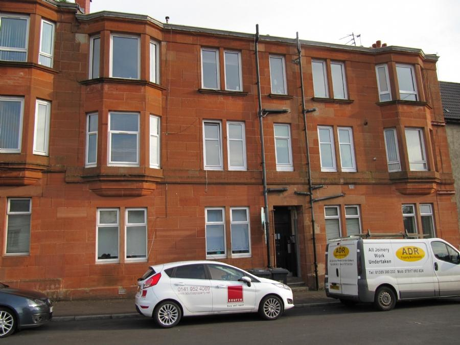 1 Bedroom Flat for rent in 9 Gavinburn Place, Flat 1/3, Old Kilpatrick, G60 5JP