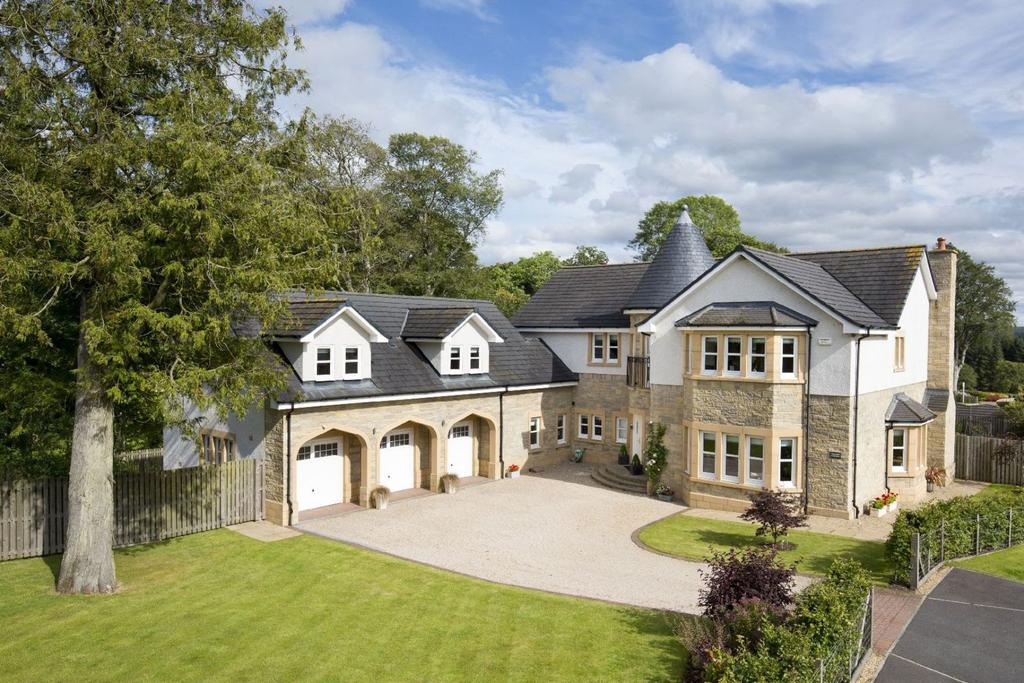 5 Bedrooms Detached House for sale in 1 Rutherford Castle Drive, West Linton, Nr Edinburgh EH46 7AR