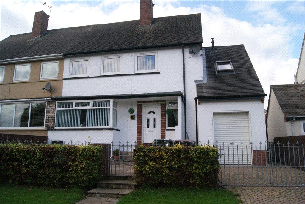 4 Bedrooms Semi Detached House for sale in Grey Gables, Brandon, DH7