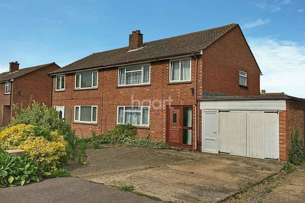 3 Bedrooms Semi Detached House for sale in Colchester Road, Lawford, Manningtree, Essex