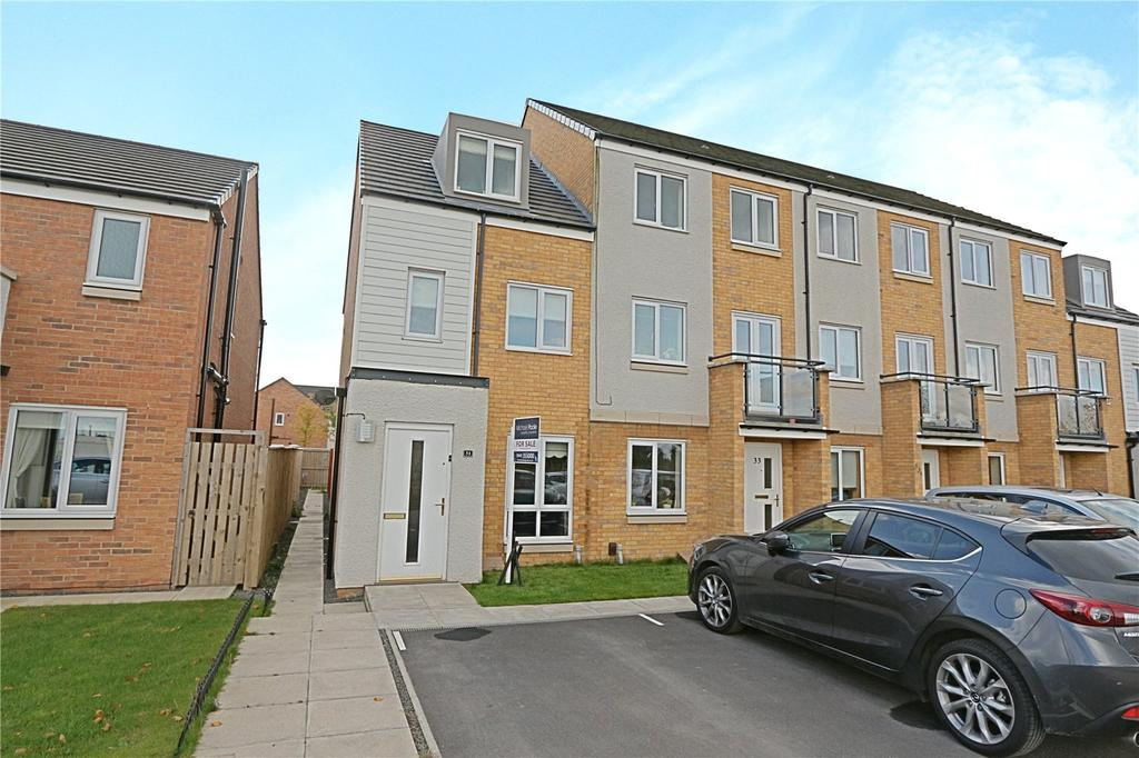 3 Bedrooms End Of Terrace House for sale in Greatham Avenue, Stockton-On-Tees