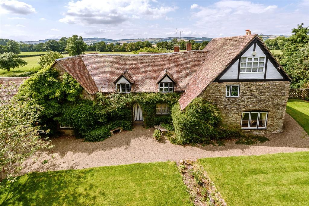 5 Bedrooms Detached House for sale in Sutton, Stanton Lacy, Ludlow, Shropshire