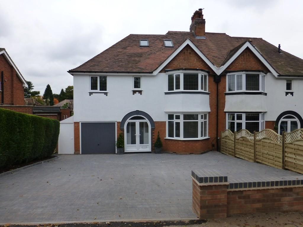 5 Bedrooms Semi Detached House for sale in Streetsbrook Road, Solihull