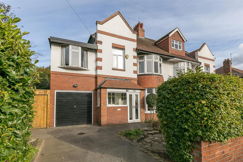 5 Bedrooms Semi Detached House for sale in Moorside North, Fenham, Newcastle upon Tyne