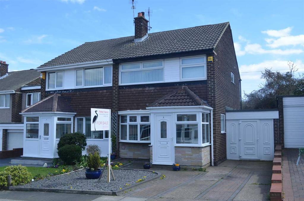 3 Bedrooms Semi Detached House for sale in Dipton Gardens, Tunstall, Sunderland