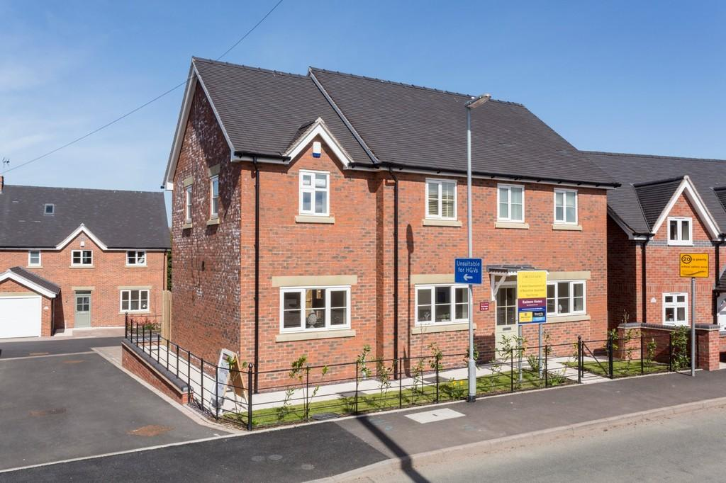 4 Bedrooms Detached House for sale in Green Farm Meadows, Seighford, Stafford