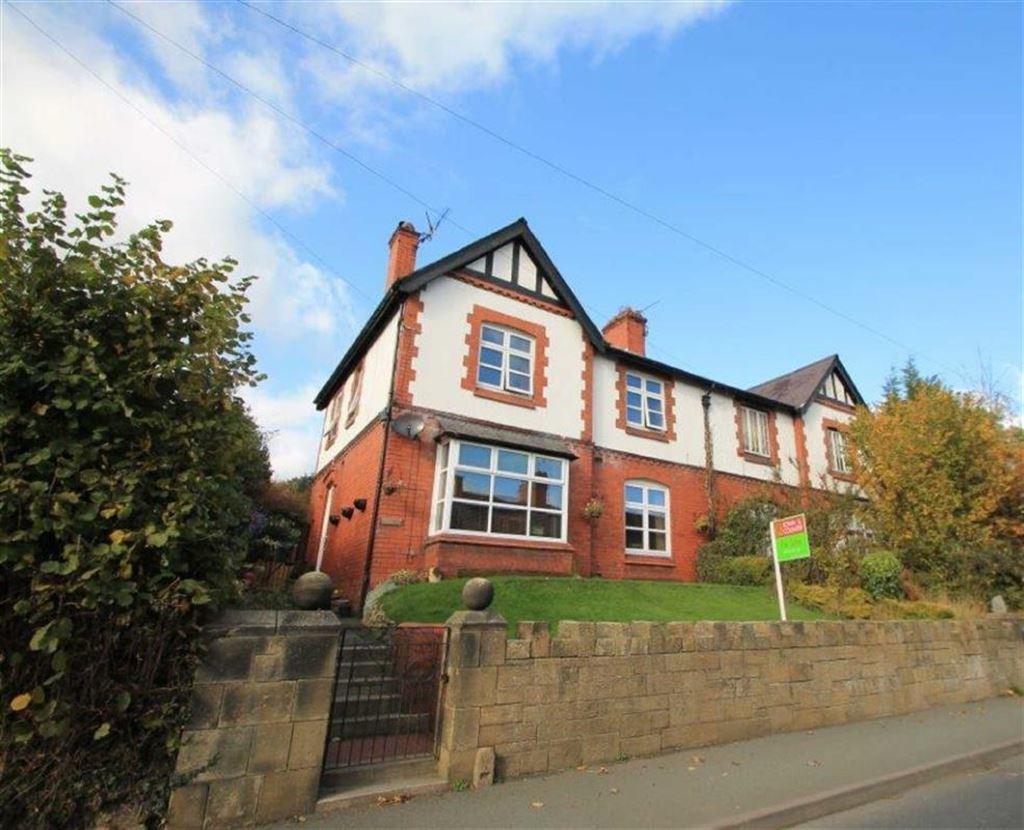 3 Bedrooms Semi Detached House for sale in Llangollen Road, Trevor, Wrexham