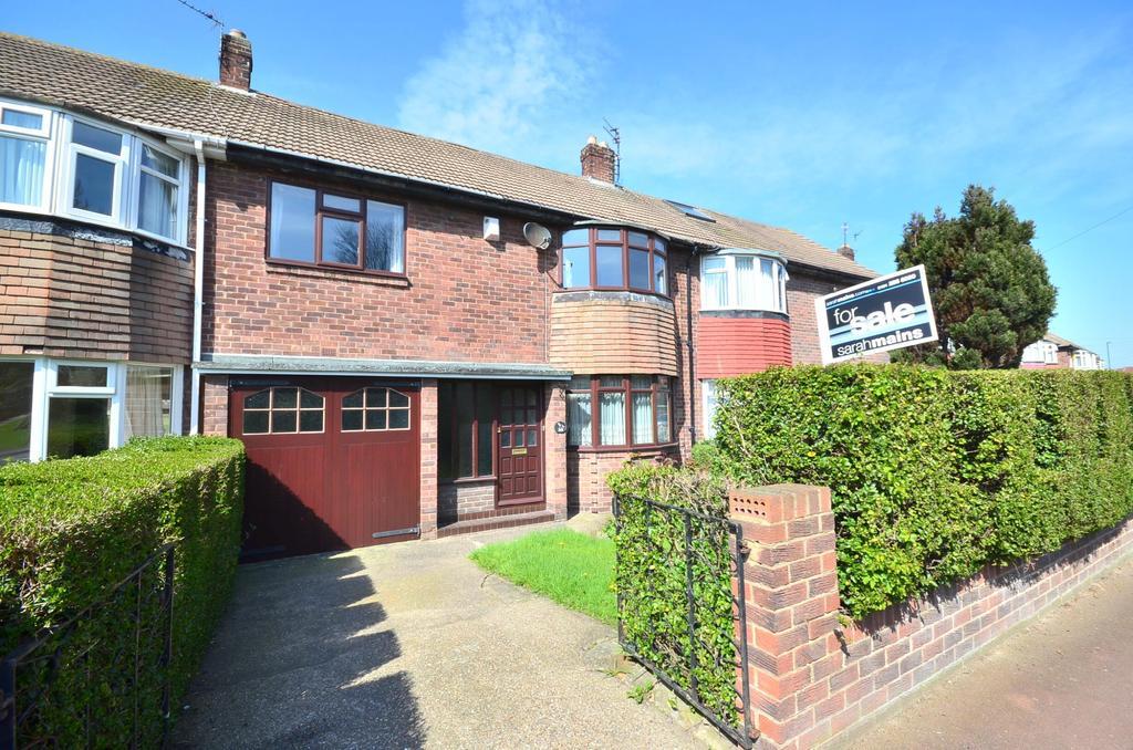 4 Bedrooms Terraced House for sale in Fenham
