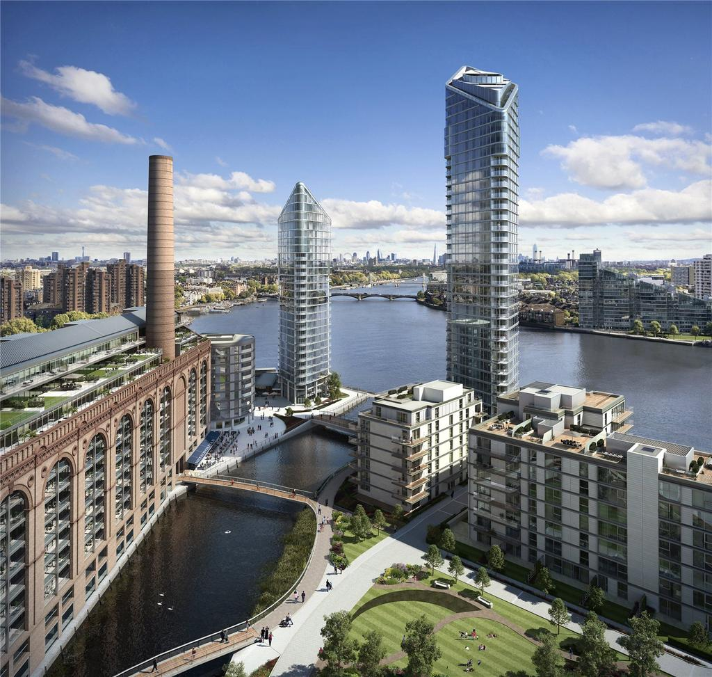 4 Bedrooms Flat for sale in Chelsea Waterfront, Lots Road, Chelsea, London, SW10