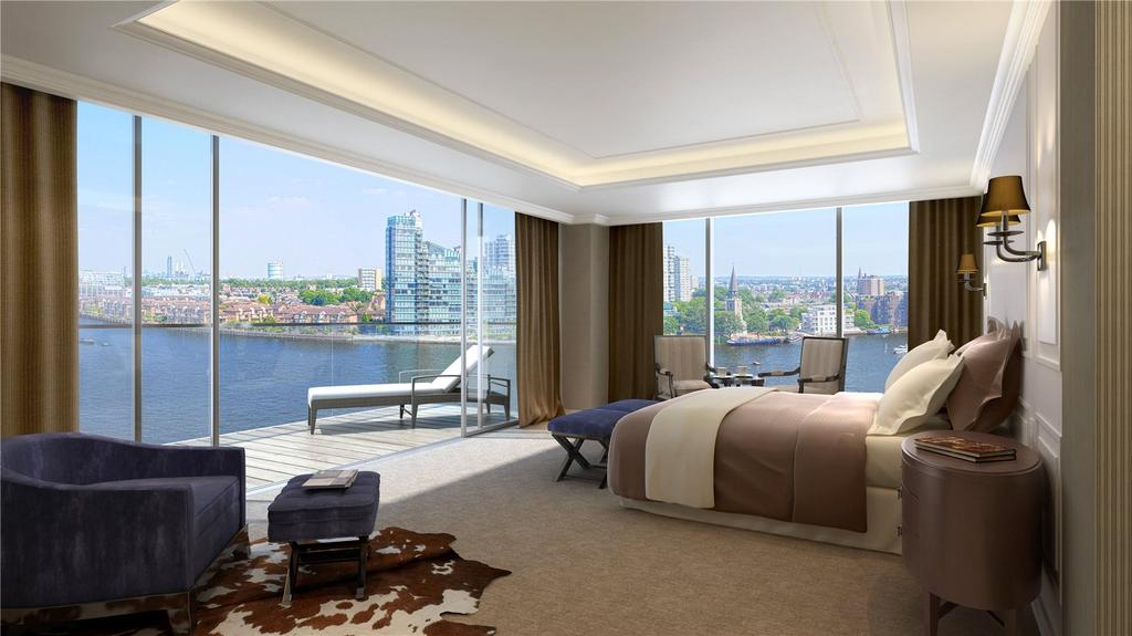 4 Bedrooms Flat for sale in Chelsea Waterfront, Lots Road, Chelsea, London, SW10