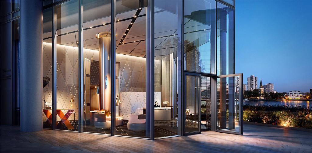 2 Bedrooms Flat for sale in Chelsea Waterfront, Lots Road, Chelsea, London, SW10
