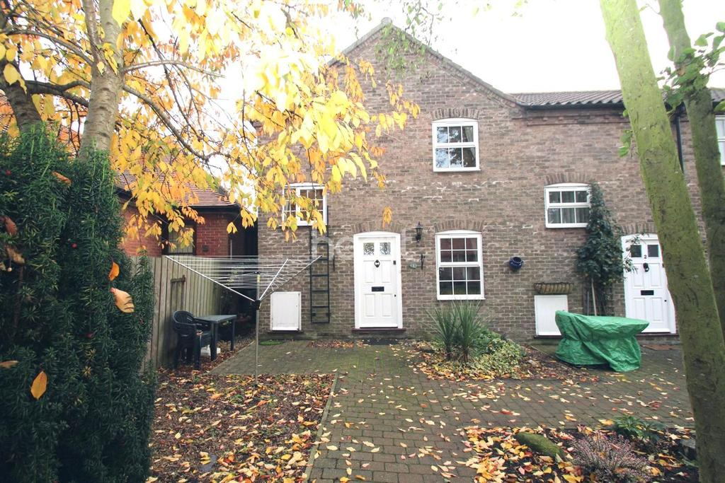 2 Bedrooms End Of Terrace House for sale in Smithy Yard, Wragby, Lincoln, LN8