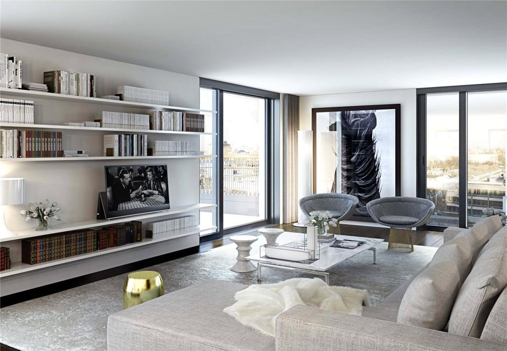 3 Bedrooms Penthouse Flat for sale in Rathbone Square, Rathbone Place, Fitzrovia, London, W1T