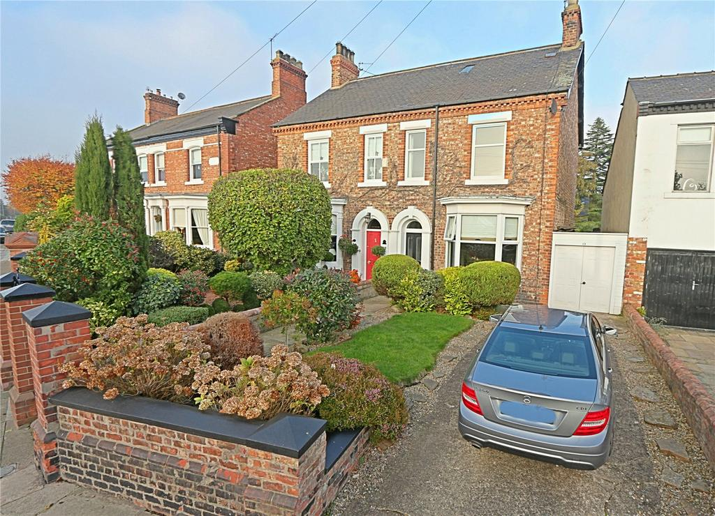 3 Bedrooms Semi Detached House for sale in Station Road, Norton