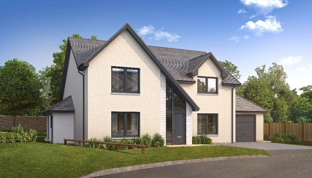 5 Bedrooms Detached House for sale in The Orchil, Plot 13, St Serfs Place, Auchterarder, Perthshire, PH3 1QS