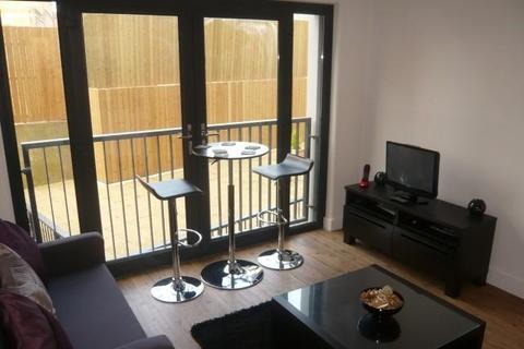 Studio to rent - WELL DESIGNED HUB STUDIO WITH SEPARATE BEDROOM AREA & JULIET BALCONY
