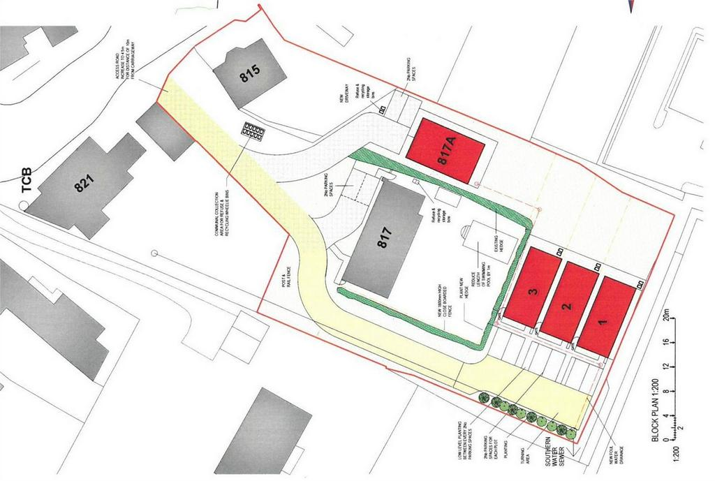 Land Commercial for sale in Development Site Rear of 815 The Ridge, ST LEONARDS, East Sussex