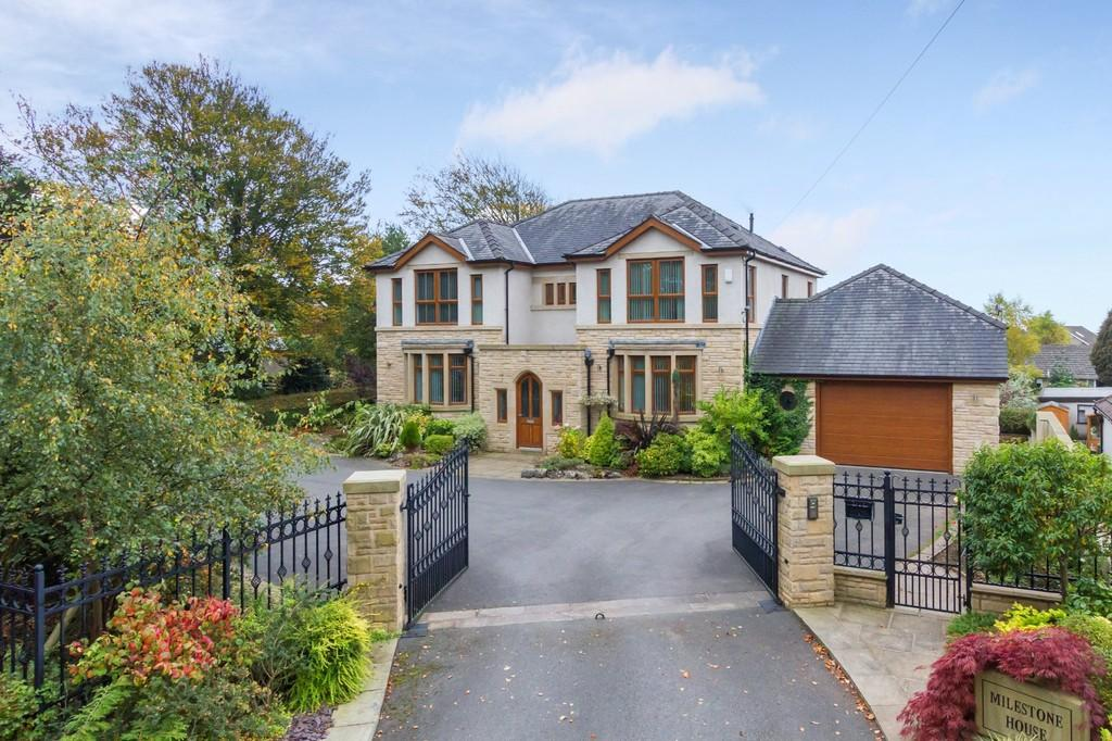 5 Bedrooms Detached House for sale in Milestone House, 20 Hest Bank Lane, Hest Bank, Lancaster LA2 6DB