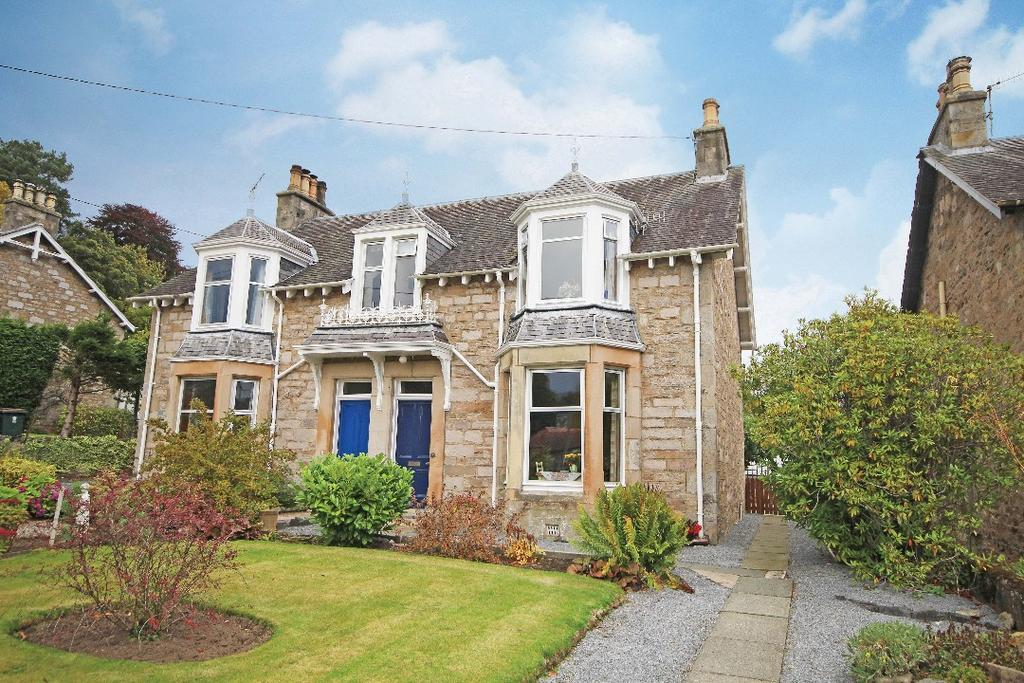 3 Bedrooms Semi Detached House for sale in 66 Bonnethill Road, Pitlochry, Perthshire, PH16 5ED
