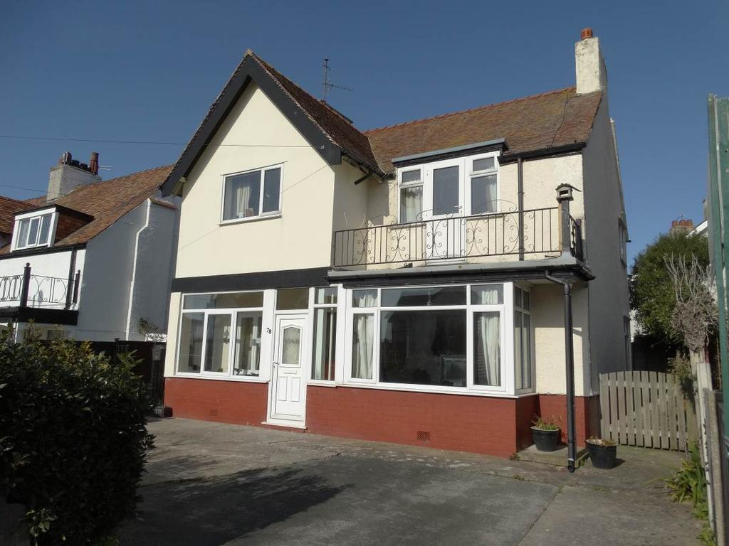 2 Bedrooms Flat for sale in Ground Floor Apartment 78 Abbey Road, Rhos on Sea, LL28 4PF