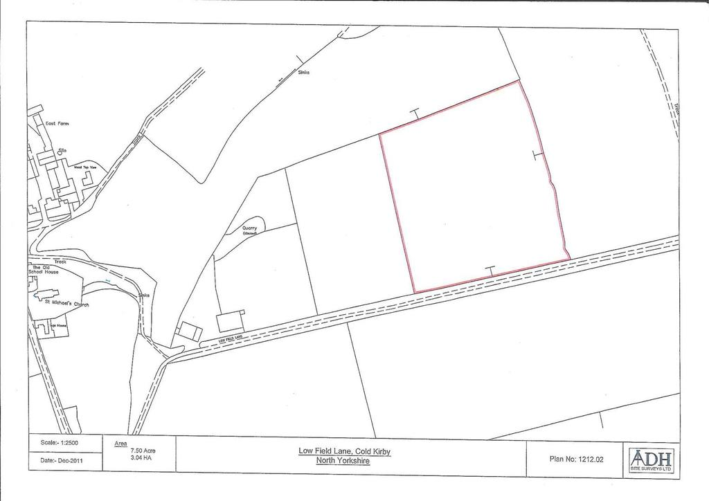 Land Commercial for sale in Cold Kirby