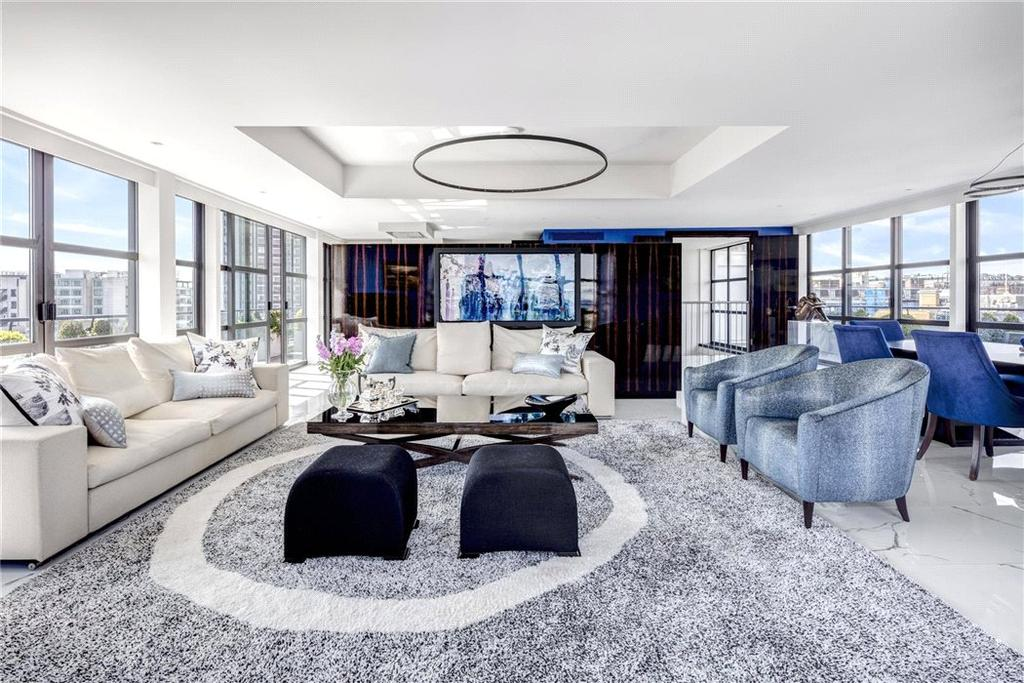 4 Bedrooms Penthouse Flat for sale in Curzon Street, Mayfair, London, W1J